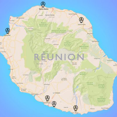 Nos agences à La Réunion
