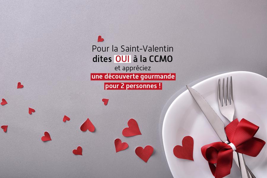 Profitez de l'offre Saint-Valentin